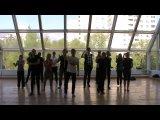 Мега танец в конференц-зале